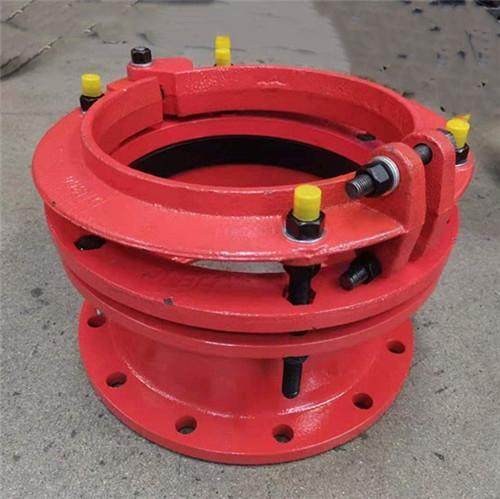 铁管单法兰防脱甲管伸缩器